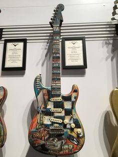 Desert Drive Stratocaster by Greg Fessler Artwork by Dave Newman #322