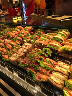 Photo by Peto Barna - Photo 182670029 / Sandwich Bar, Sandwich Shops, Deli Food, Cafe Food, Bakery Shop Design, Bakery Shop Interior, Bread Shop, Food Menu Design, Think Food
