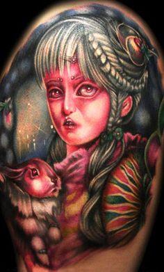 Artista: Khan Tattoo #tattoo #tatuagem #tattooplace #inked #tattooplace www.tattooplace.com.br