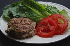 Rosemary and Sage Pork burger