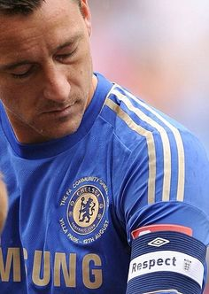 Chelsea defender John Terry will be forced to wear a & Against Racism& armband when he captains his side against Shakhtar Donetsk in the Champions League on Tuesday. Chelsea Fans, Chelsea Football, Play Soccer, Football Soccer, Football Shirts, College Football, John Terry, Chelsea Fc Wallpaper, Most Popular Sports