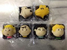 Peanuts characters' Japanese sweets