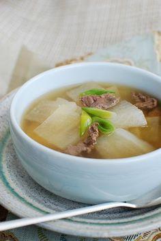 Korean Radish Soup (Mu Guk/Moo Guk)   Korean Bapsang