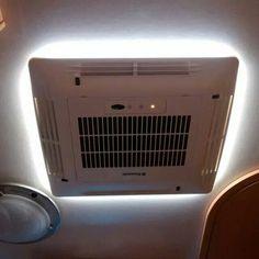 Met indirecte LED-verlichting