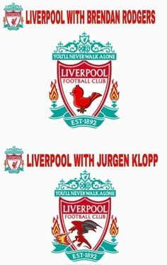 Ptaszek w herbie za czasów Brendana Rodgersa w FC Liverpoolu • Smok w herbie podczas panowania Jurgena Kloppa • Wejdź i zobacz >> #liverpool #klopp #football #soccer #sports #pilkanozna