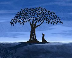 """After meditating under a fig tree and carefully observing his experience, the Buddha woke up to what it means to be human—both its stark realities and the potential it holds for us to find peace and well-being."" From ""How to Wake Up"""