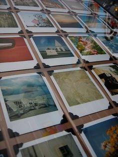 Framed Polaroid Display