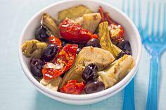 Salade aux cœurs d'artichauts