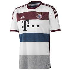 Adidas FC Bayern München Auswärts Trikot 2014/2015 LEWANDOWSKI