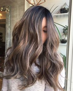 Pretty fall hair color for brunettes ideas Brown Balayage Icy Babylights Good Housekeeping The Best Hair Color Ideas For Brunettes Hair Color Asian, Ombre Hair Color, Cool Hair Color, Brown Hair Colors, Asian Ombre Hair, Brunette Hair Colors, Ombre Hair For Asians, Darker Hair Color Ideas, Hair Colors For Fall