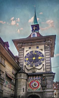 The Clock Of Clocks by Hanny Heim