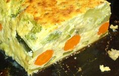 Receta de Pastel de Verduras al Microondas Salad Recipes, Diet Recipes, Cake Recipes, Cooking Recipes, Healthy Recipes, Party Recipes, Spanish Cuisine, Tasty, Yummy Food