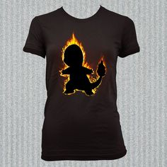 "Pokemon Charmander ""Flame Burst"" T shirt - Singapore/Malaysia 