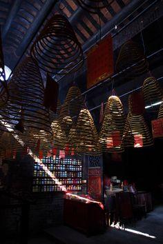 Temple interior, Taipa, Macau