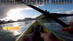 GoPro HERO5 Session Paddling from Pinel Island to St. Maarten Before Sunset