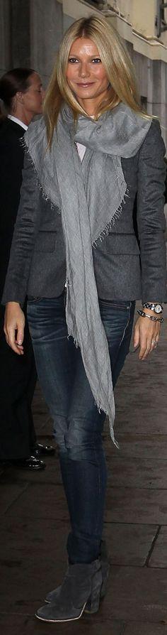 gwyneth paltrow.  grey.