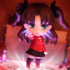"""Nendoroid photography by Allgroassai"" Tohsaka Rin - Fate/Zero"