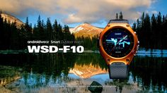 CASIO - Android Wear [Smart Outdoor Watch] WSD-F10 Android Wear Smartwatch, Android Watch, Stylish Watches, Cool Watches, Watches For Men, Consumer Technology, Wearable Technology, Mens Gadgets, Survival