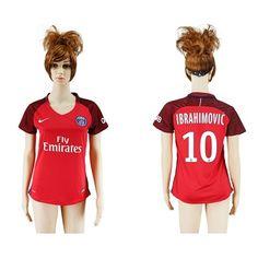 PSG Fodboldtøj Dame 16-17 Zlatan Ibrahimovic 10 Udebane Trøje Kortærmet.  http://www.fodboldsports.com/psg-fodboldtoj-dame-16-17-zlatan-ibrahimovic-10-udebane-troje-kortermet.  #fodboldtrøjer