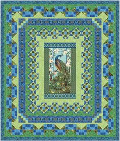 Queen Persian Mosaic Quilt Pattern using by fabricaddictshop