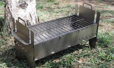 Grill Oven, Grill Grates, Camping Life, Grilling, Bbq, Outdoor Decor, Outdoor Ideas, Smokers, Design