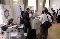Le stand de de @GroupeLaPoste @SoColissimo @Viapost_log @ChronoPost