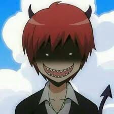Little little devil~ Assassination Classroom Karma Akabane~ That personality is just like me! Anime Meme, Manga Anime, Otaku Anime, Anime Guys, Karma Kun, Nagisa And Karma, Assassination Classroom Karma, Anim Gif, Koro Sensei