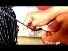 This tutorial was requested by I hope it was helpful to everyone. Natural Hair Tips, Natural Hair Styles, Coily Hair, Natural Haircare, African American Hairstyles, Box Braids, Hair Hacks, Knots, Cool Hairstyles