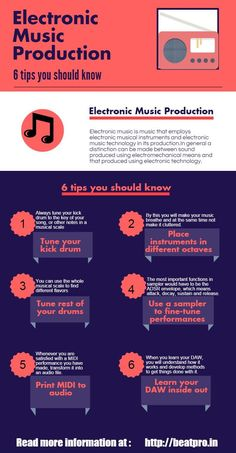 6 Electronic music production tips you should know