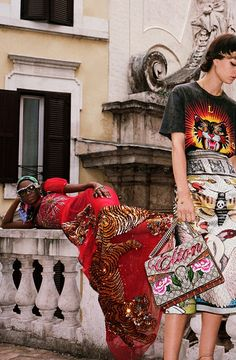 Wild Days and Nights in Roma | Gucci Spring 2017 Campaign by Glen Luchford