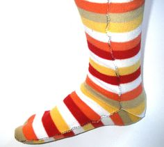 Cozy Socks Made From Polar fleece Blanket