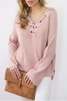 Petite Knitted Long sleeves Pullover