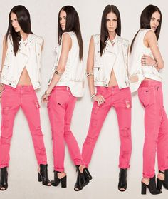 Ellus 2014 Summer Womens Denim Lookbook Collection - Rio de Janeiro Brazil Southern Hermisphere 2014 Verao Mulheres: Designer Denim Jeans Fashion: Season Collections, Runways, Lookbooks and Linesheets