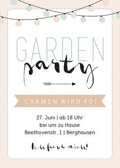 Invitation to the birthday garden party pastel - birthday ideas - Invitation to the birthday garden party pastel Invitation to the birthday garden party pastel The post Invitation to the birthday garden party pastel appeared first on Birthday ideas. Diy Birthday Invitations, Surprise Party Invitations, Garden Party Invitations, Photo Wedding Invitations, Garden Parties, 30th Birthday, Birthday Ideas, Best Part Of Me, Invitation Cards