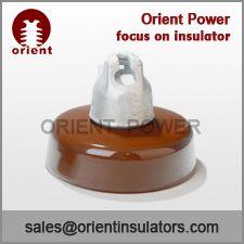 120KN anti-pollution suspension ceramic insulator-Orient
