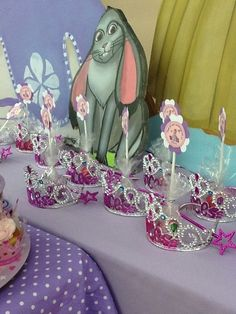 "Photo 12 of Sofia the First / Birthday ""Alana's Birthday at Just 2 Party Playhouse"" Princess Sofia Birthday, Sofia The First Birthday Party, 4th Birthday Parties, 3rd Birthday, Birthday Ideas, Birthday Crowns, Princesse Party, Princesa Sophia, First Birthdays"
