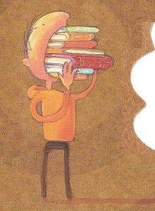 Fame di libri...Sono posseduto da una passione inesauribile che finora non ho potuto né voluto frenare. Non riesco a saziarmi di libri.