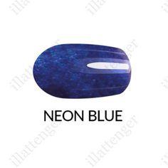Körömlakk Gel Finish - neon kék ml