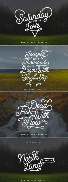 North Land Typeface is a handlettering vintage font inspired by handmade lettering and typography. The font have smooth edges to simulate vintage printing, so it will bring a handdrawn classic look feel. #vintagetype #vintagelook #font #fontdesign #typematters #typeface #typefacedesign #handmadefont #typography #typegang #typespire #type #creativemarket