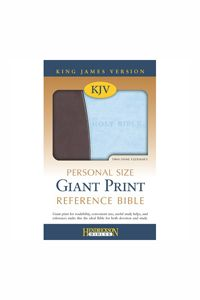 Kjv gift bible pink with grey deboss pinterest pink kjv personal size giant print reference bible chocolateblue 2995 http negle Choice Image