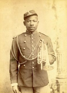 Buffalo Soldier Bugler by Black History Album, via Flickr