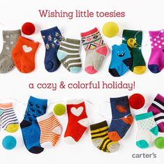 Little stocking stuffers for little toesies. #giftable #ministyle #lovecarters by carters