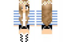 minecraft skin Casual GIrl