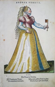 VENEDIG / VENEZIA ITALIEN KOSTÜME COSTUMES WEIGEL 1577 | eBay