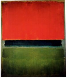 Mark Rothko (USA, 1903-1970) - Untitled (Red, Dark Green and Green), 1952