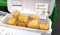 How to Freeze Zucchini Blossoms