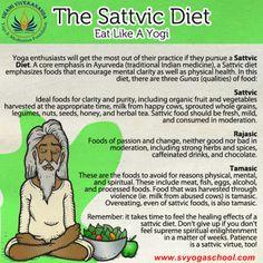World Vegetarian Day A look at a Sattvic Yogic Diet - Ayurveda Ayurvedic Healing, Ayurvedic Diet, Ayurvedic Recipes, Ayurvedic Medicine, Holistic Healing, Natural Healing, Ayurveda Lifestyle, Yoga Lifestyle, Healthy Lifestyle