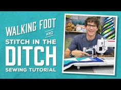 Follow the Seam More Accurately with These Tips! It's often recommended that quilters start out machine quilting by stitching in the ditch. It's a relatively simple process that allows the piecing and fabric to star while the quilting falls into the background. It's also a technique that you're likely to use many times during your …