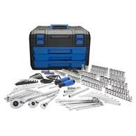 Kobalt 227-Piece Standard (SAE) and Metric Mechanic's Tool Set with Hard Caserf