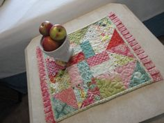 WOW this is a really cute and easy quilt pattern!